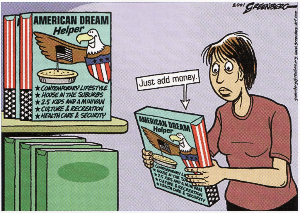 failure of the american dream thesis The american dream is something common to all people, but it is something that everyone views in different ways the american dream is different for everyone, but they share some of the same aspects of it the dream is dependent mainly on the setting of where one lives and one's social status.